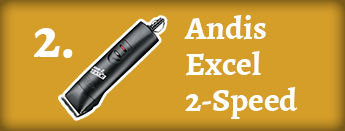 2. Andis Excel 2-speed