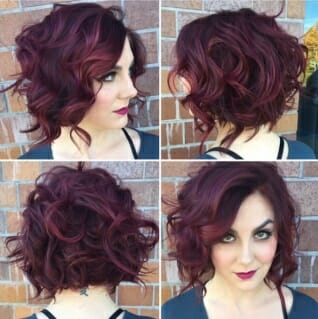 Lovely Curls for Short Hair, Stylish Hairstyles Short Hair