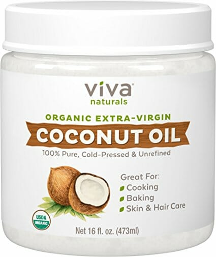 Viva naturas coconut oil